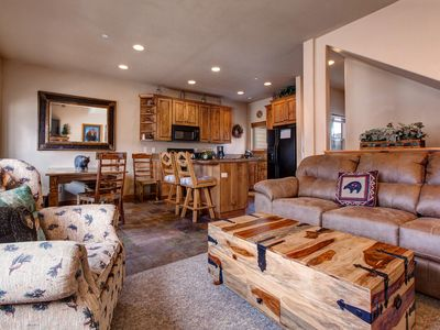 Photo for Charming bear-themed home w/ hot tub, fitness center, & pool access!