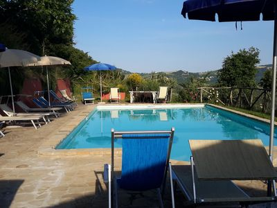Photo for Gorgeous Apartment in Monte San Martino With Pool