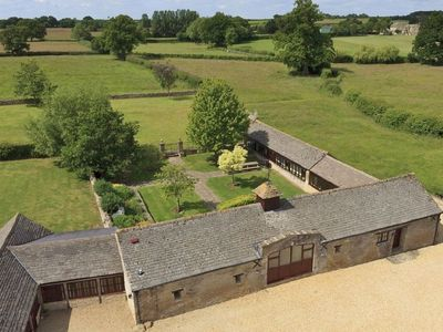 Photo for The Cotswold Manor Grange, Exclusive Hot Tub, Games/Event Barns, 70 acres of Parkland