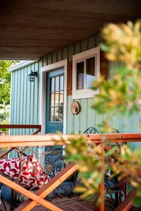 Photo for SWEET HILL COUNTRY CABIN in the PERFECT location; easy access! Sleeps 4-6!