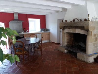 Photo for In the heart of the black causse in a small hamlet at 930 meters above sea level.