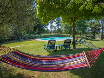 Photo for Sughero - private pool villa near Lucca. Fenced garden, WIFI. Walk to restaurant