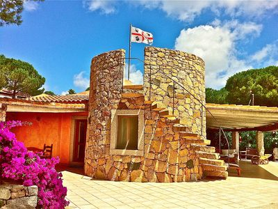 Photo for SPLENDID VILLA 50 METERS FROM THE SEA