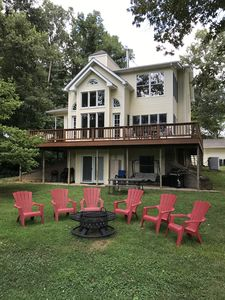 Photo for Beautiful Home On The White River Next Door to Wildcat Shoals Public Access Ramp