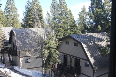 Our condo is a side by side duplex unit, 3 level, with great neighbors!