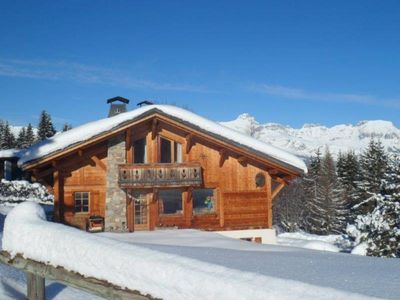 Photo for Saint Gervais Mont Blanc: Chalet - SAINT-GERVAIS MONT BLANC