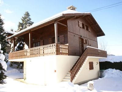 Photo for PRETTY TRADITIONAL CHALET ACCOMMODING 14 PERSONS