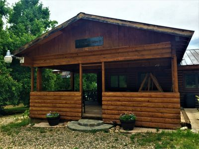 Photo for Ultimate Zion/Bryce Retreat- Log Cabin,  Meadows, Views, Horses, Stars