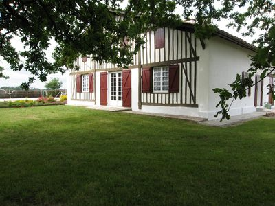 Photo for Landes Typical House This Region With Private Pool