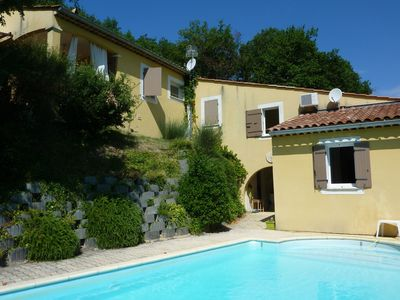 Photo for Beautiful villa with private pool and beautiful view near picturesque town