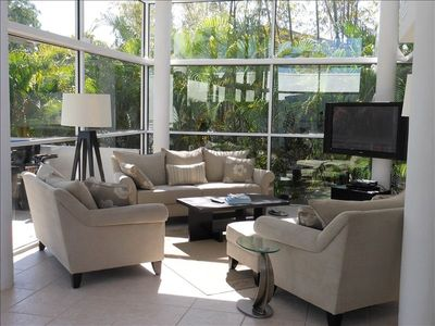 Photo for Lido Beach, Sarasota - Stunning Home with Private Beach Access