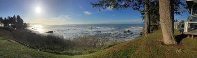 Panorama Photo of the amazing view captured at Sexton Shores!