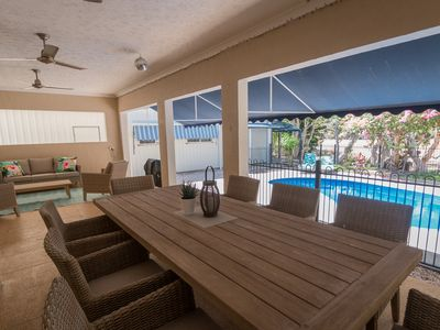 Photo for Beautiful home in a quiet, private location overlooking natural lagoon