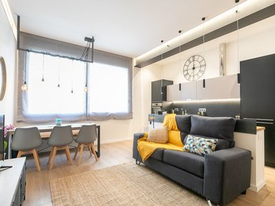 Photo for Modern and spacious apartment with a beautiful terrace for 4