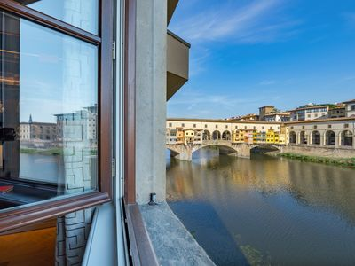 Photo for Panoramic view on Ponte Vecchio
