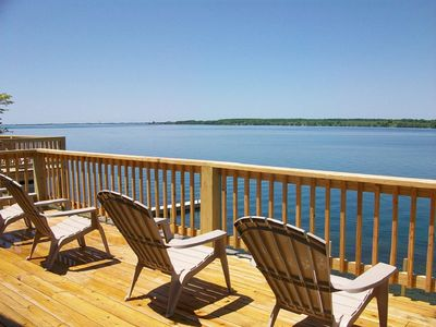 Photo for Stunning views of the St. Lawrence River