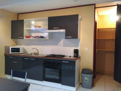 Photo for Superb comfortable T3 in dream residence with garden and private pool.
