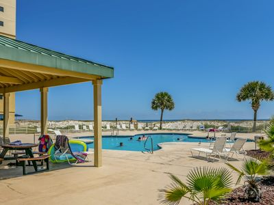 Photo for Tranquil, waterfront getaway w/ shared pool, hot tub, beach access
