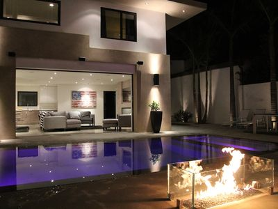 Photo for Stunning New Contemporary Home /With Rear Two Story Guesthouse