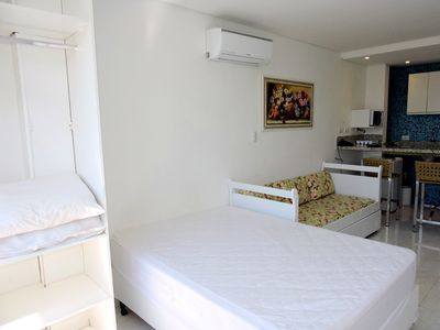 Photo for Kitnet with air conditioning in Guaruja