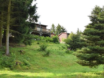 Photo for Holiday home in the Limbachtal valley with a large balcony, terrace, fireplace and private garden.