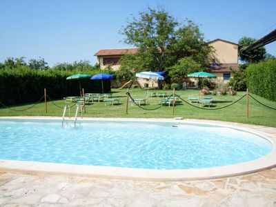 Photo for Le Bocchette Apartment, Sleeps 5 with Pool and Free WiFi