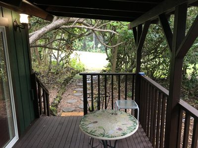4 acre fruit&coffee orchard with private beach access
