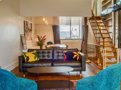 Photo for Crazy Triplex at Saint-Germain, with double view!