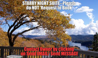 Photo for STARRY NIGHT SUITE-Private-180 degree- LAKE & Mtn Views, Lake Arrowhead
