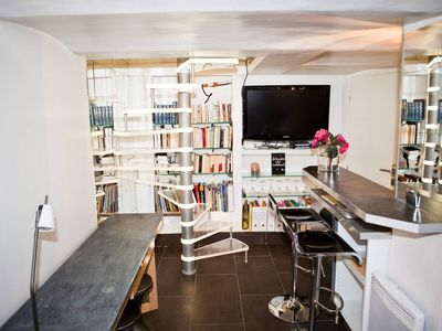 Photo for JAUD - Small duplex for 2 people, 3 min to palace