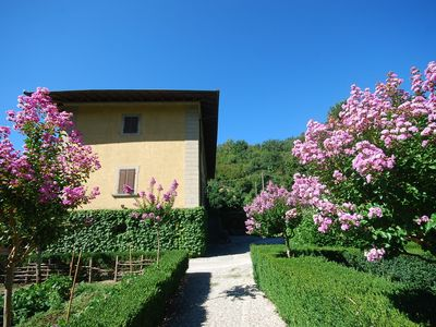 Photo for Private Villa with WIFI, private pool, TV, patio, panoramic view, parking, close to Florence