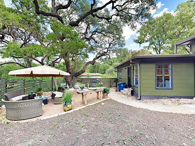 Yard - This lovely home offers abundant outdoor entertaining space.