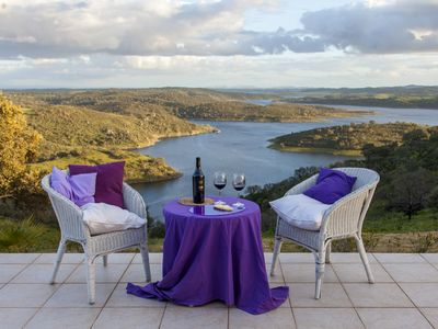 Photo for Paradise in Alentejo with a stunning view of the Alqueva