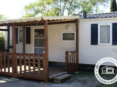 Photo for Camping Les Amandiers **** - Maeva Camping - Mobile Home 3 Rooms 4 People