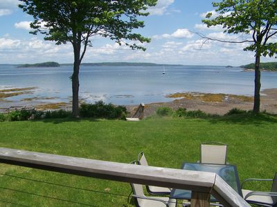 Photo for Edgewater Cottage Harpswell Maine with beautiful sunsets