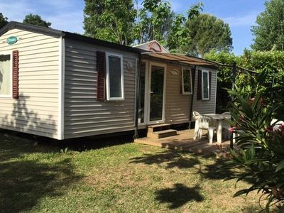 Photo for Camping Fouguières *** - Mobile home Comfort Family O'Phéa 3 Rooms 4/6 People