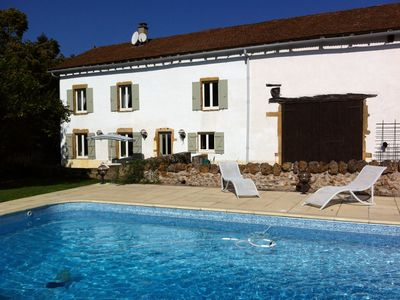 Photo for Rent our lovely farmhouse! Sleeps 8, private pool & only £1,250 p/w peak season