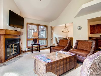 Photo for Cozy and Classic Condo in the Heart of Mountain Village. Perfect for Skiers & Mountain Bikers.