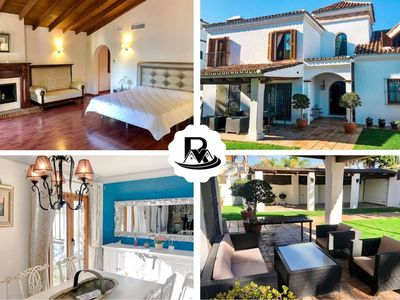 Photo for Stylish 5 Bedroom Villa In San Pedro, 100 m to the Beach ✔