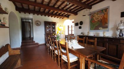Photo for Lilium, splendid villa with outdoor space, on the hills of San Gimignano