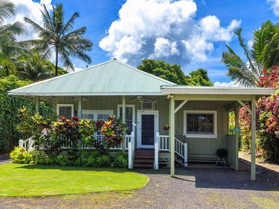 Photo for Kuuipo Hale on Weke Rd in Hanalei - short walk to the beach & A/C! TVNC #1159