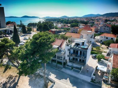 Photo for Delux sea view apratment with Pool,Gym,Parking - Seaside villa, Vodice