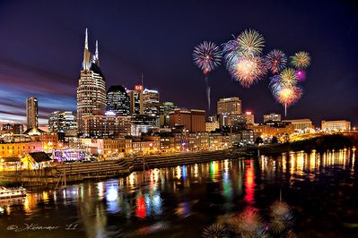 Nashville was proud to host the largest Fireworks Display in the Country!