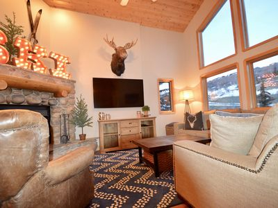 Photo for 4BR/3BA - Deer Valley/Ideal for 2 families.  1 minute to lifts! 1/2 mile to Main