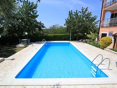 Photo for Apartment with large pool, air conditioning, WiFi, bedroom, garden and barbecue