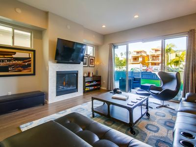Photo for Modern, High-End Private Family Beach Home w/ AC, Rooftop Deck, Private Patio!