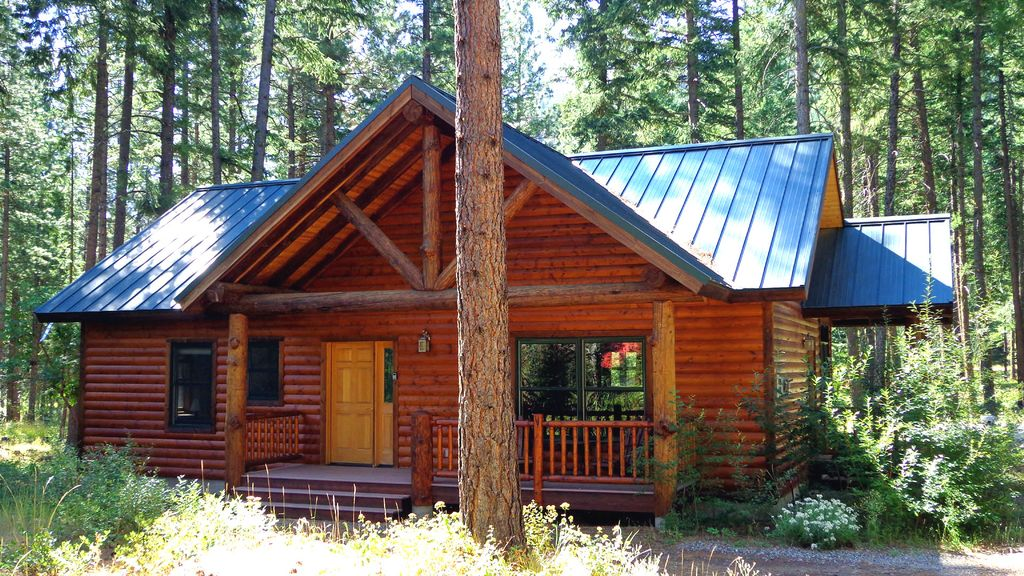 Newer mazama cabin in liberty woodlands winthrop north for Winthrop cabin rentals