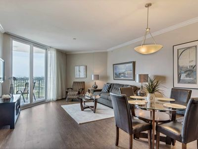 Photo for The Palms 21114. Gorgeous And Freshly Renovated With Amazing Gulf Views.  Free Dolphin Cruise!