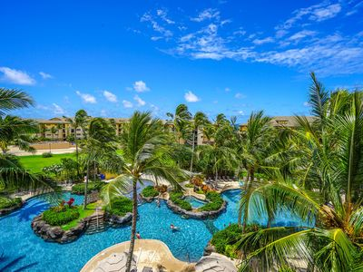 Photo for Aloha Condos, Koloa Landing, Condo 3-403, Oceanfront, AC