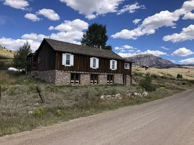 Photo for Historic Creede Cabin with complete remodel! Great OHV ATV staging!  Best views!